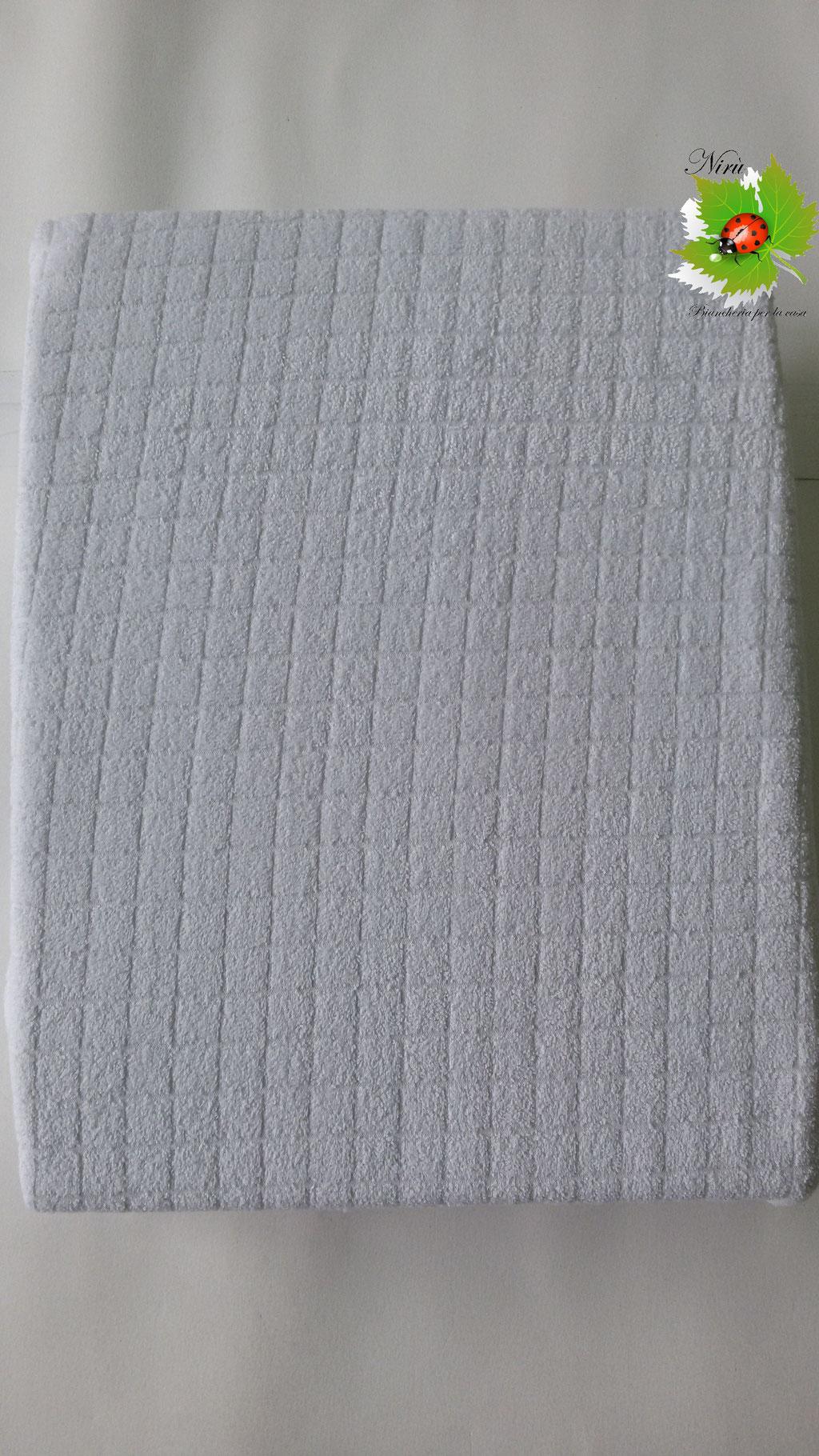 Coprimaterasso in spugna di Jersey Maestri Cotonieri per letto singolo. B142