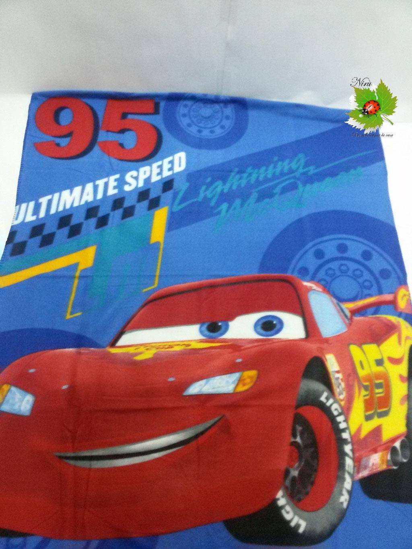 Plaid in pile inveranle Disney Cars 120x150 cm. Art.A272
