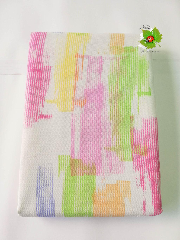 Copriletto leggero di tela una piazza e mezza Linea Oro stile sfumato. Col.Verde. B483