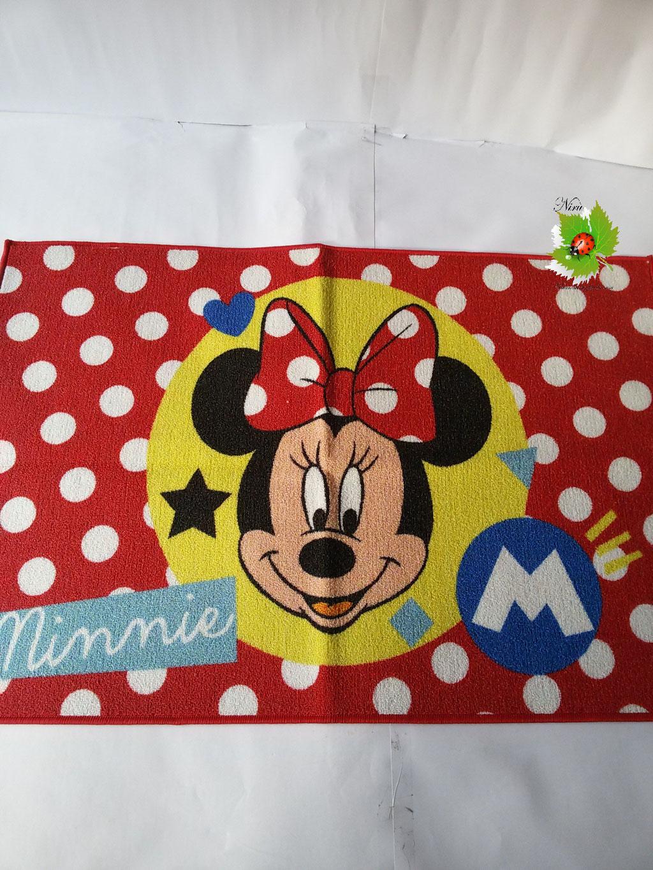 Tappeto antiscivolo Minnie Disney 80x120 cm. Art.A361