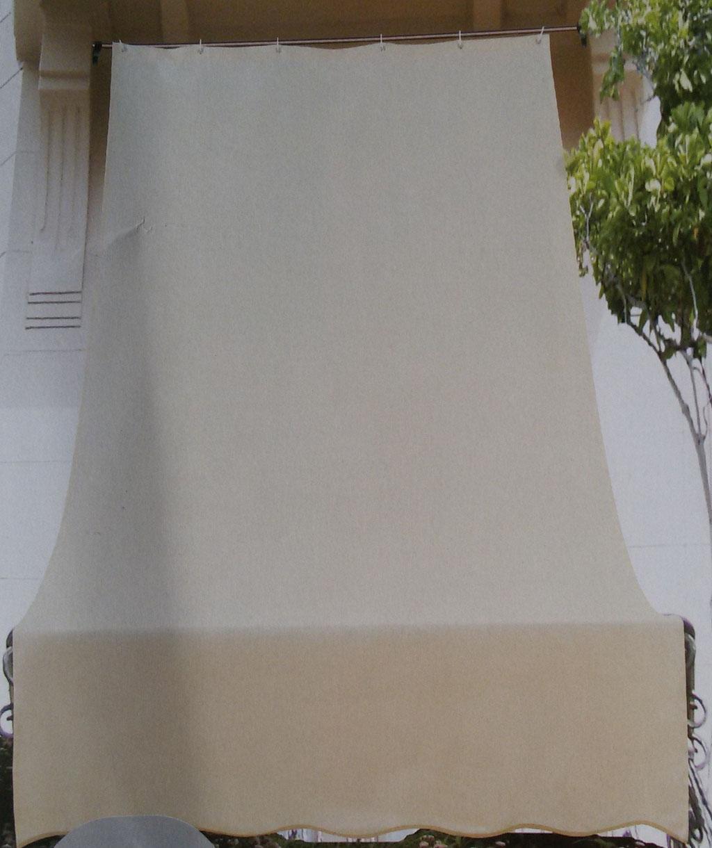 Tenda da sole con anelli 145x290 cm per esterno.Art.A789