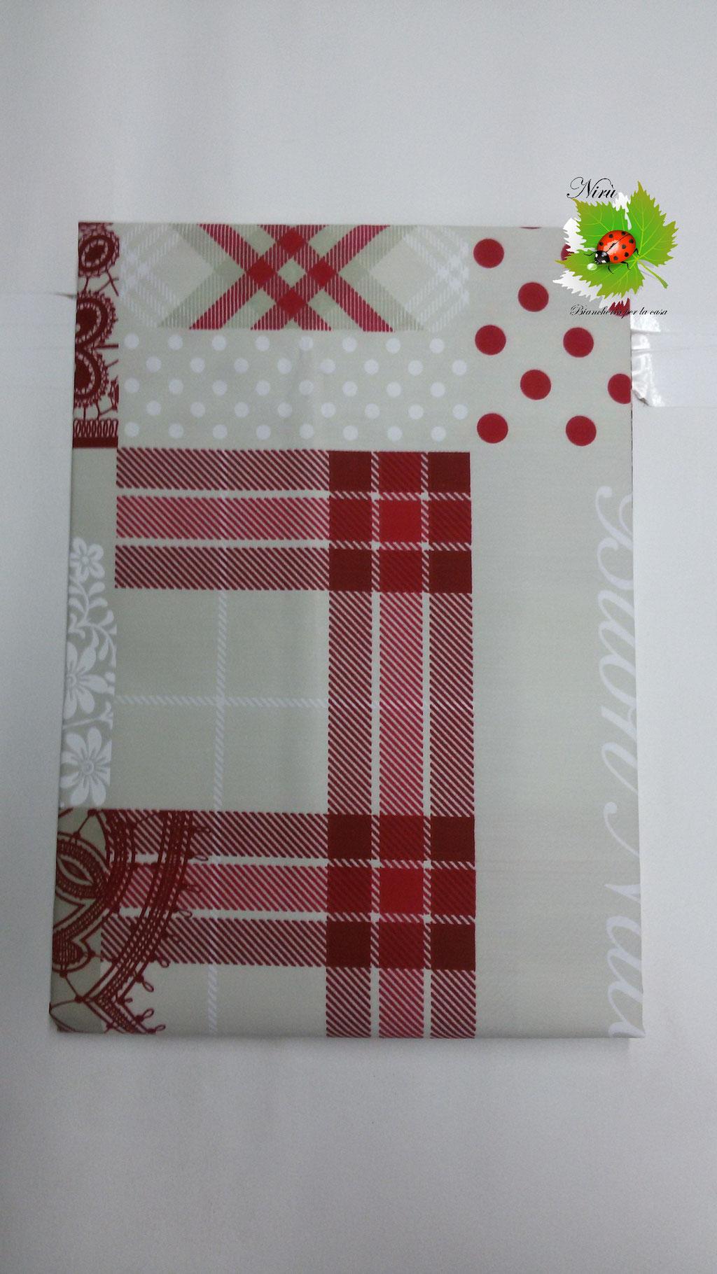 Tovaglia natalizia da 18 posti 140x360 cm. B101