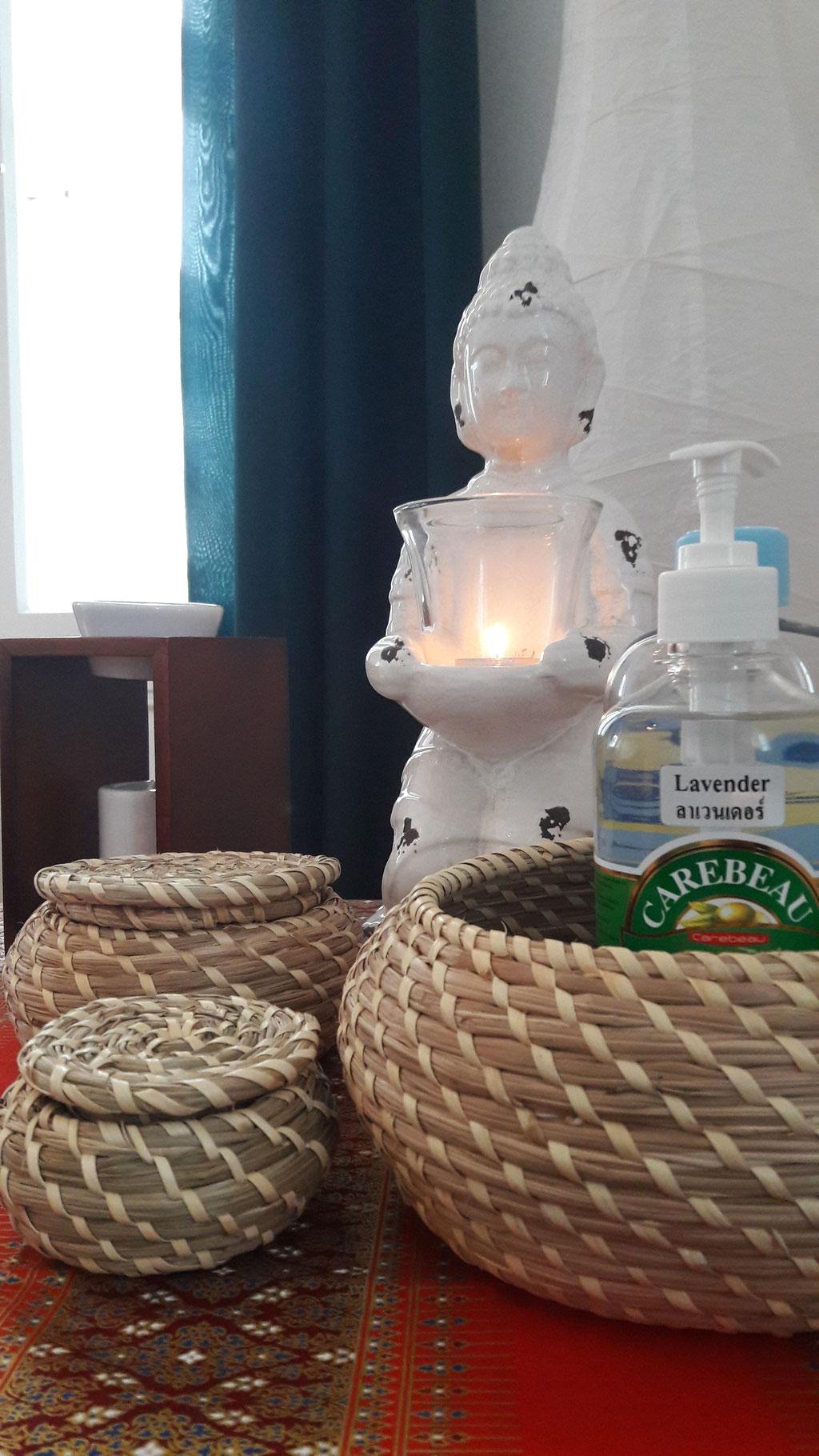 Asiatische Dekoration - Vipha Thai Massage Steyr