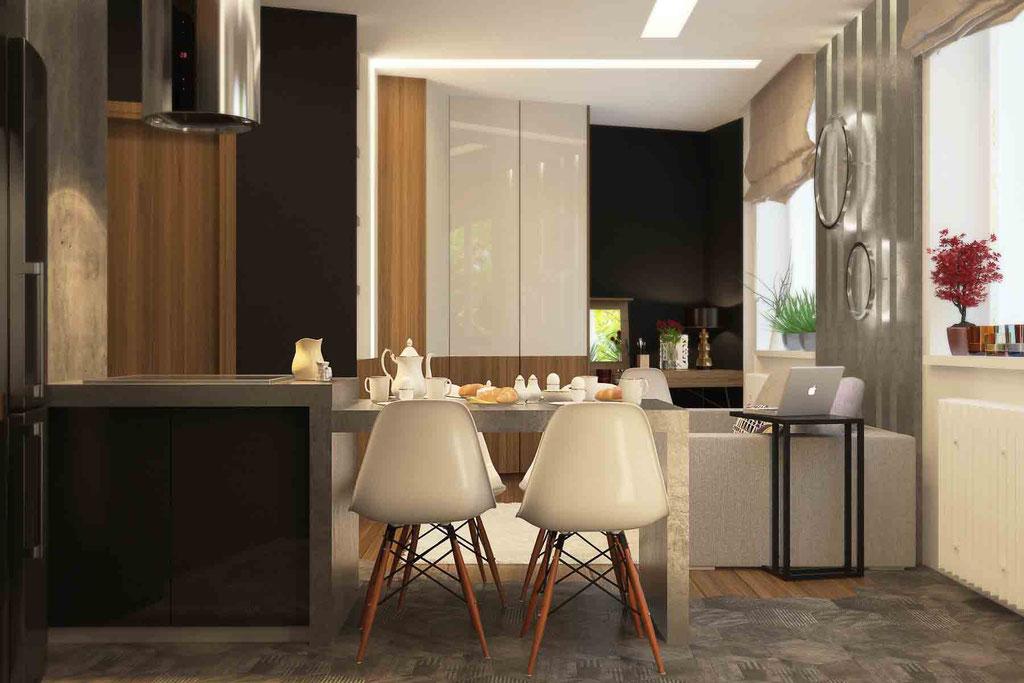 Дизайн-проект квартиры 27 кв.м