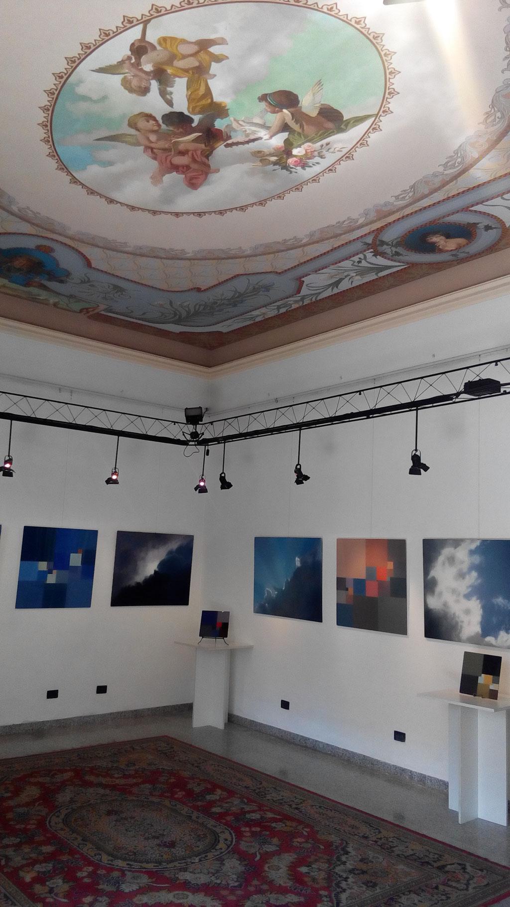 """Ausstellung """"sfumato - preciso"""" im Studio d'Arte Liberty, Angera, 2016"""