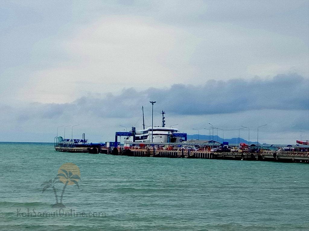 Koh Samui ferry timetable