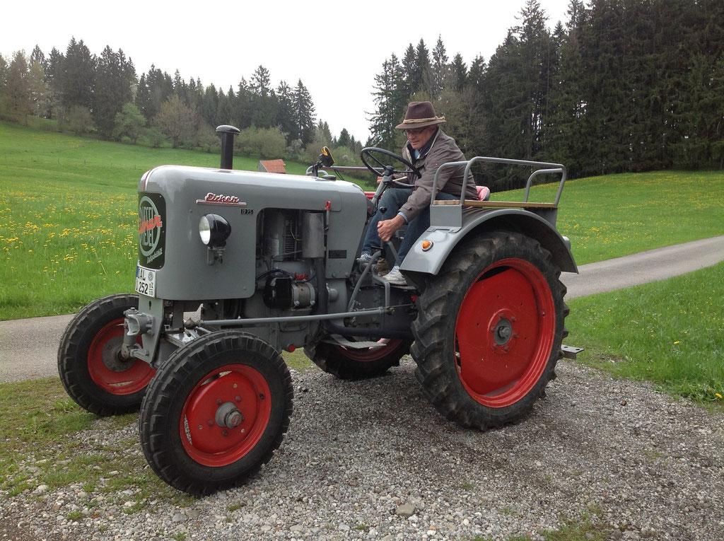 Traktor mieten
