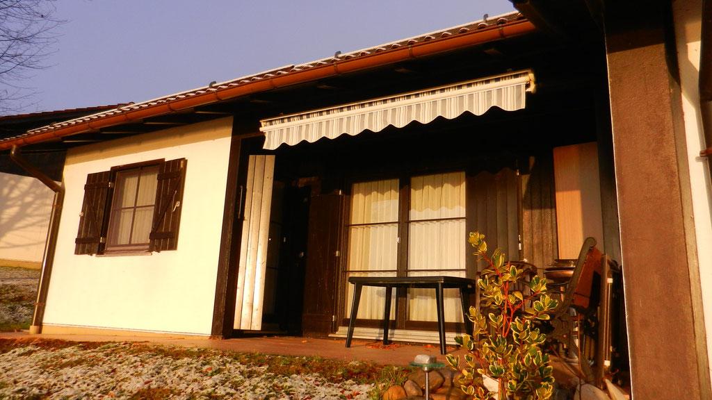 Haus 139 am Morgen