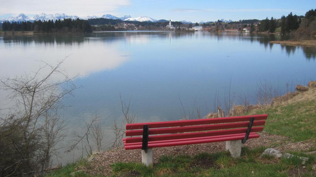 Entspannen am Lechsee