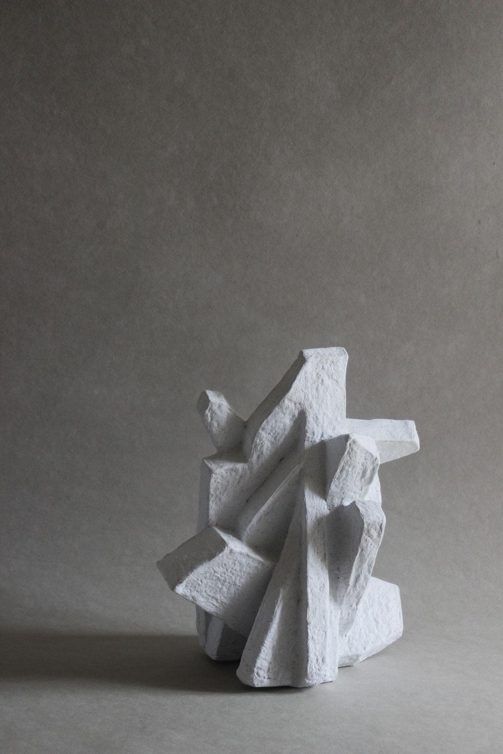 Particle medium white natural