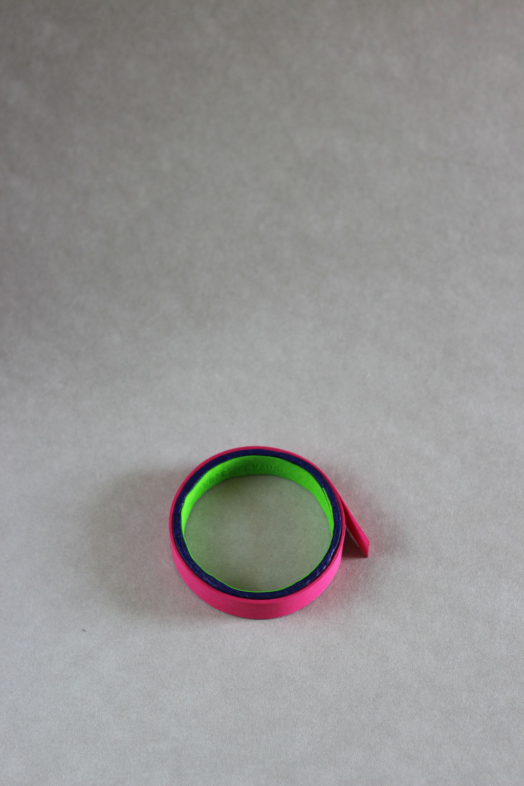 Rolle small pink/neon green