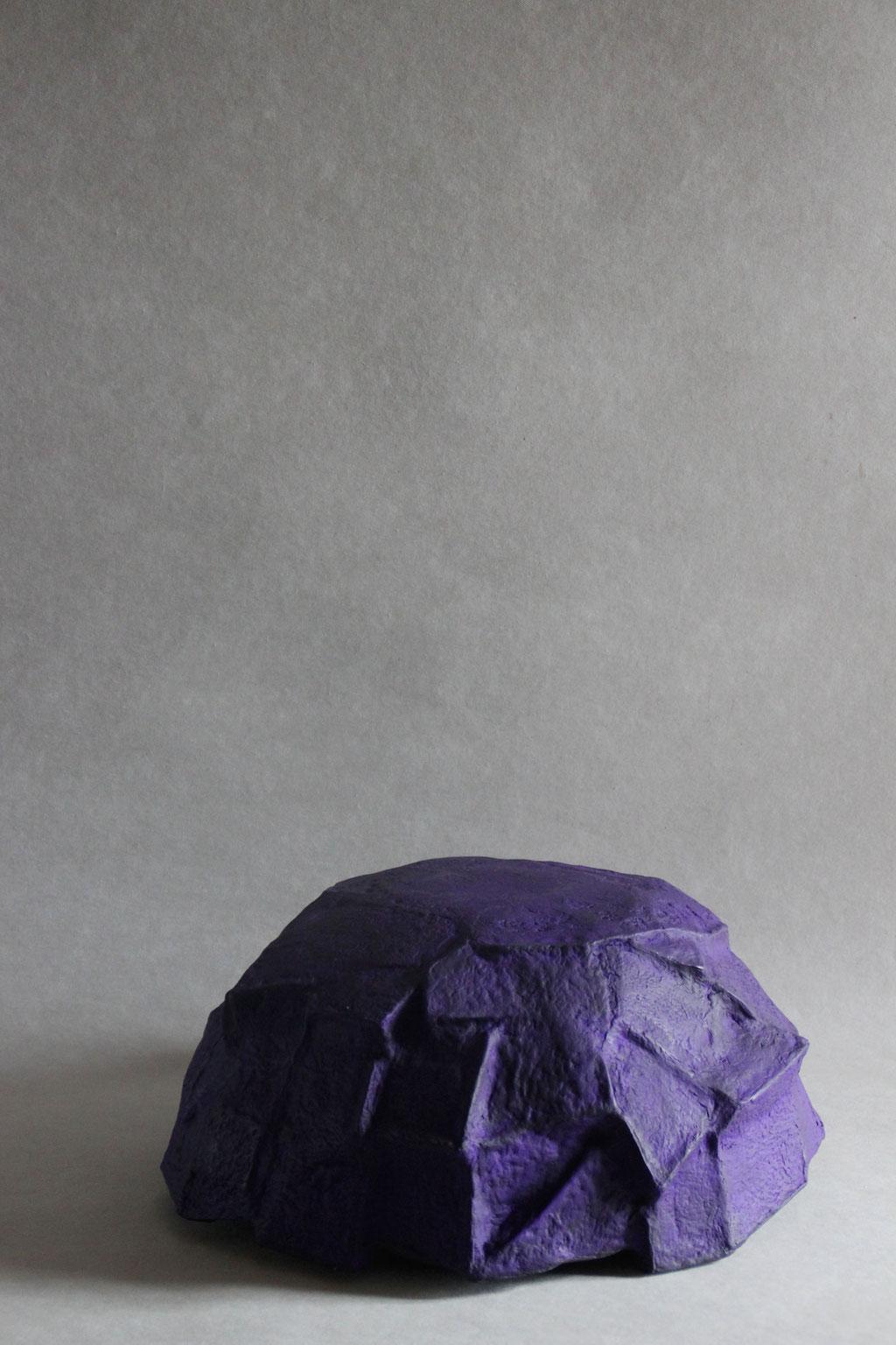 Caldera large dark purple