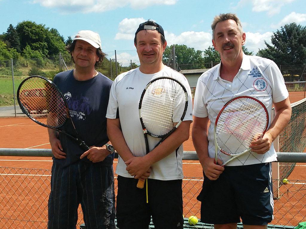 Alexander Frank, Jochen Galler, Klaus Rieker