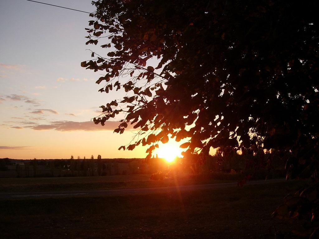 Profitez des couchers de soleil tout au long de l'année