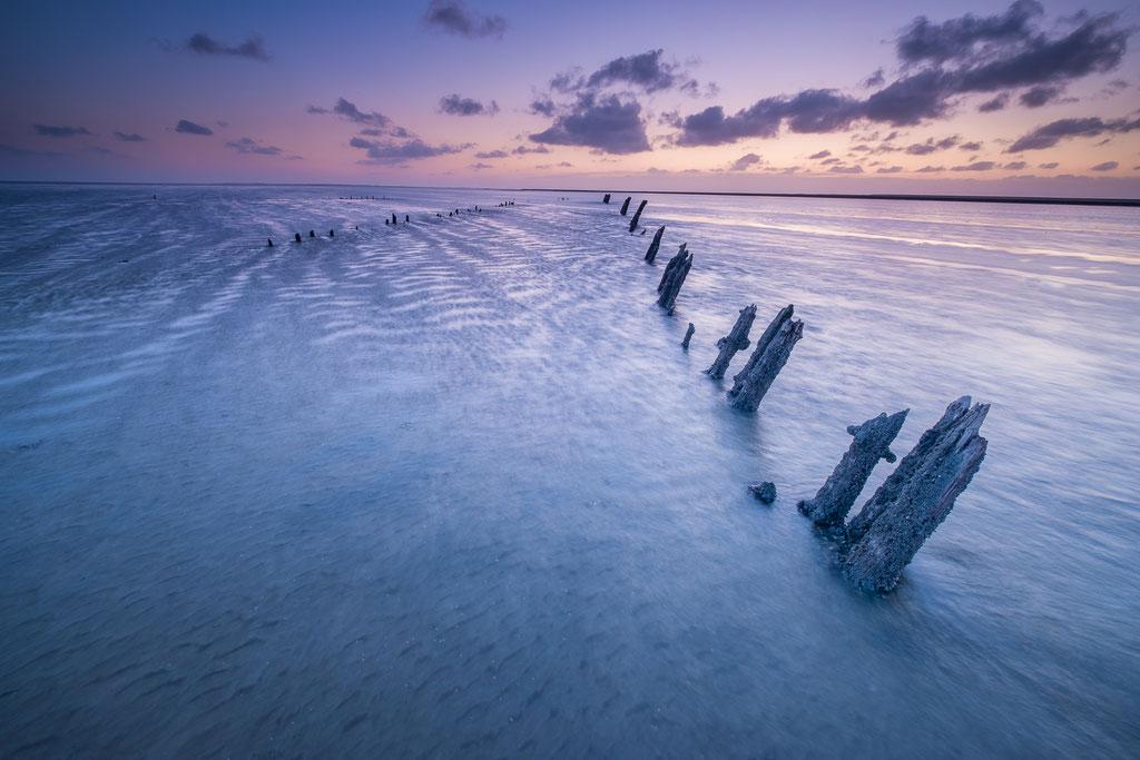 Sunrise Waddenkust Paesens Moddergat 29 maart © Jurjen Veerman