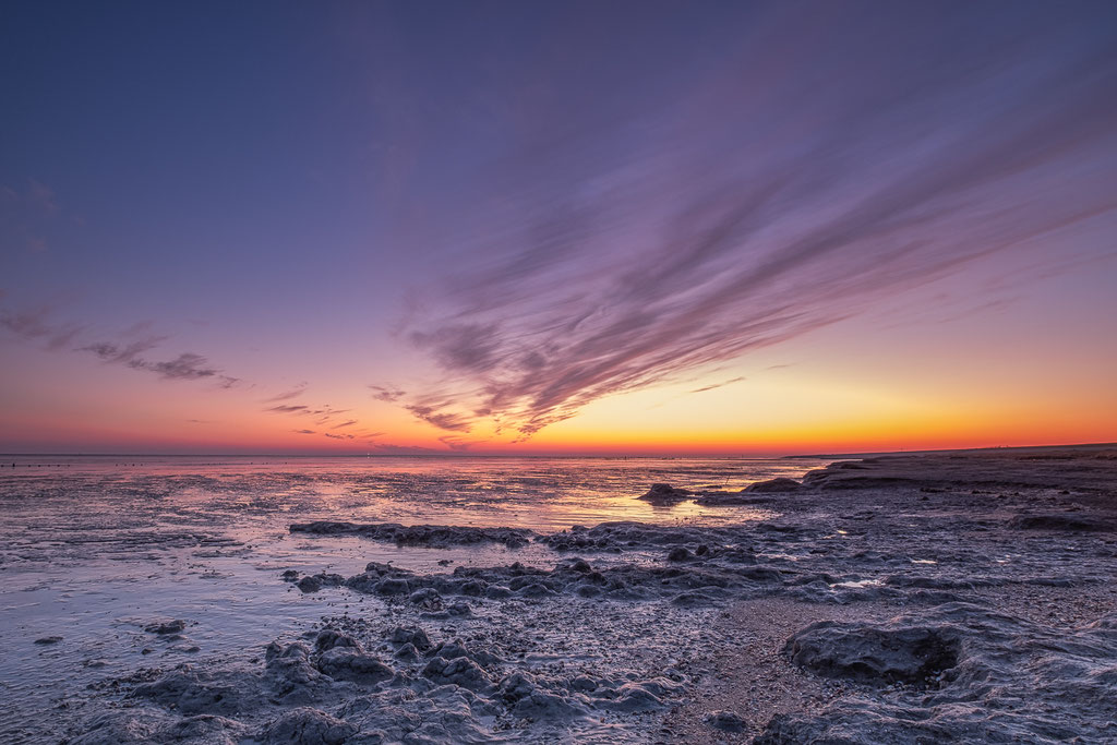 Sunrise Waddenkust Wierum 26 maart © Jurjen Veerman