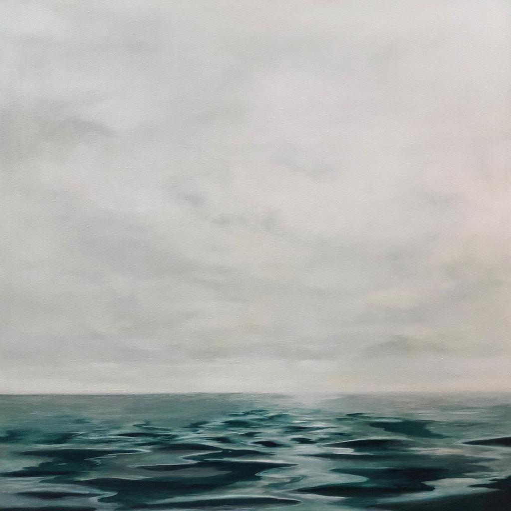 Irgendwo 11_Öl auf Leinwand, 80 x 80 cm