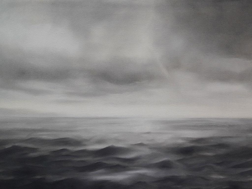 Mittelmeer02, Öl auf Nessel, 90 x 60 cm