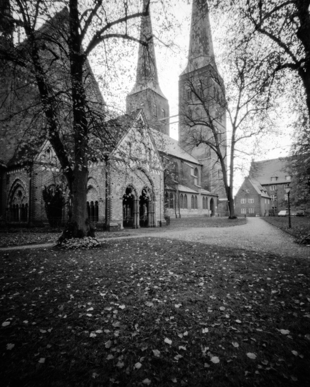 Lübeck - Dom | Harman TiTAN Pinhole Camera F206