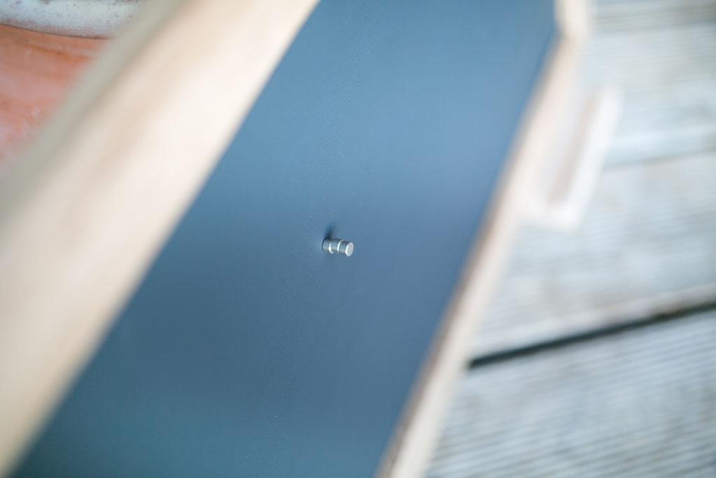 Tafel magnetisch - Eichenrahmen