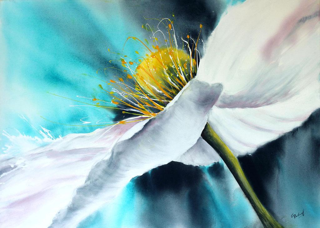 Weiße Phantasie | Acryl | 60cm x 80cm |  verkauft