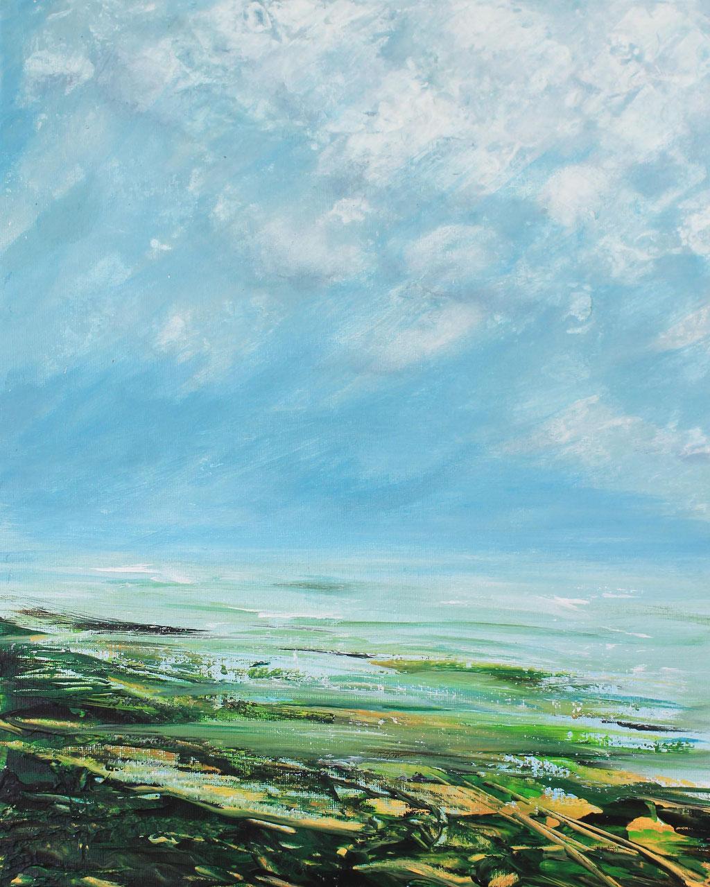 Friesland I Acryl I 40cm x 30cm