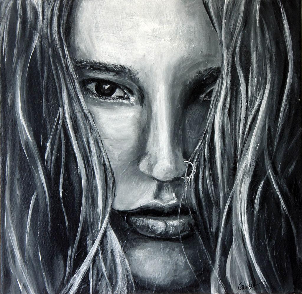 Joss Stone | Acryl | 40cm x 40cm