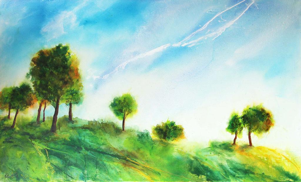 Sommerwind | Acryl | 60cm x 100cm