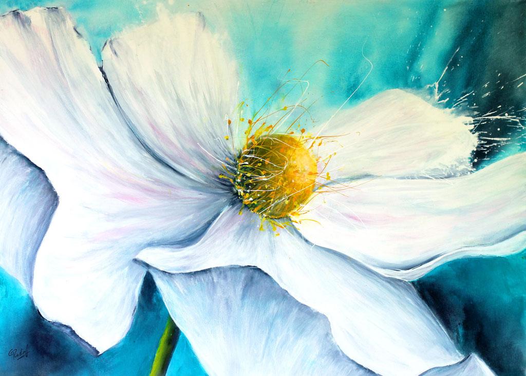Weißer Traum | Acryl | 70cm x 100cm