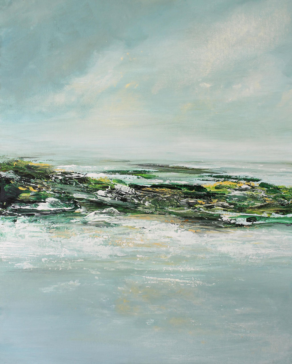 Landscape I Acryl I 40cm x 30cm