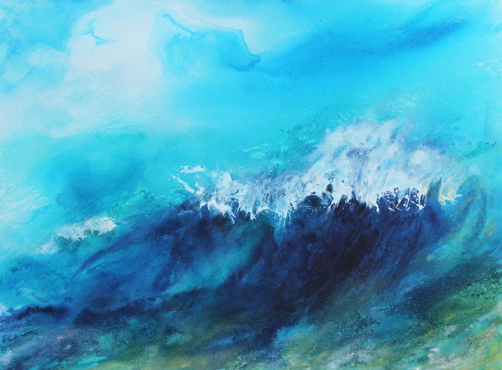 Wave | Acrylmischtechnik | 80cm x 100cm