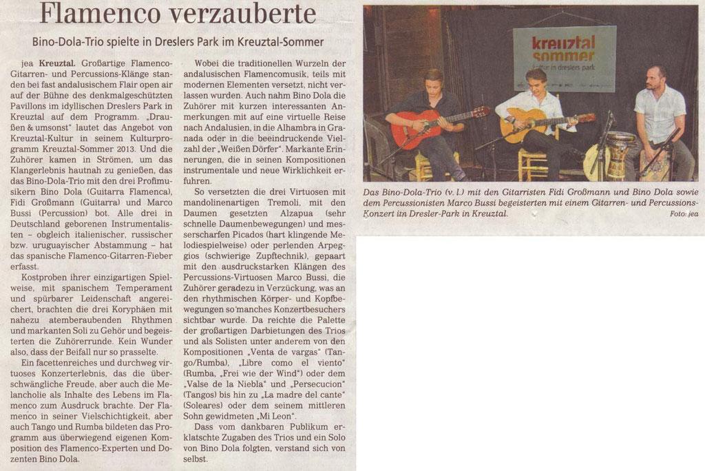 Kreuztal (Siegener Zeitung, 23.07.2013)