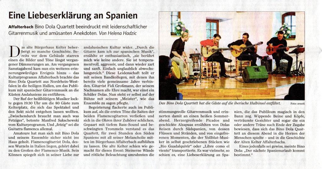 Affalterbach (Marbacher Zeitung, 19.05.2019)