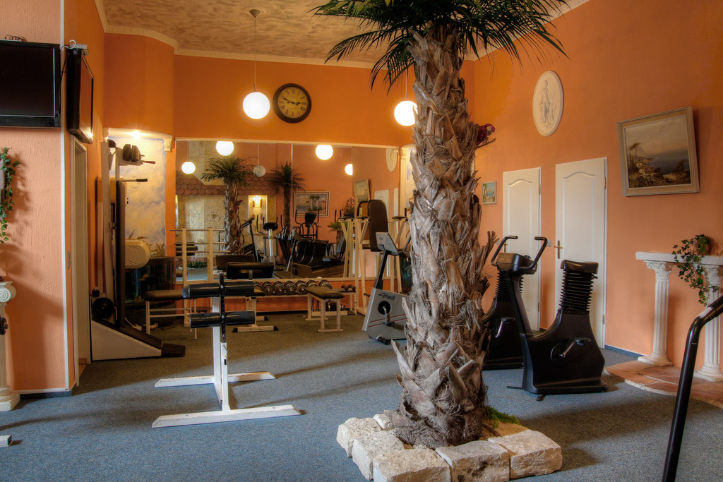 Trainingsräume im mediterranen Stil
