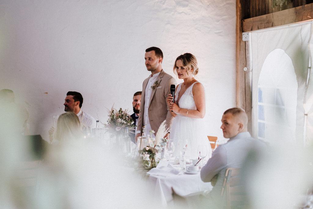 Rede Brautpaar Gut Rothensiek Hochzeit