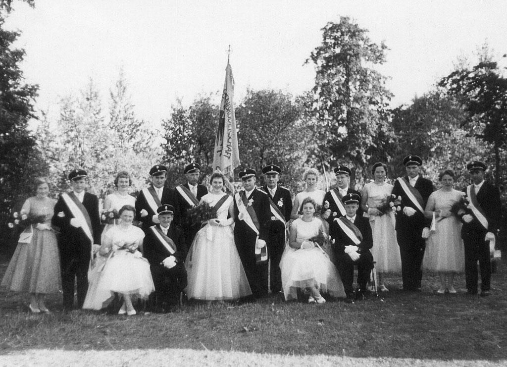 60 Jahre Hofstaat 1959