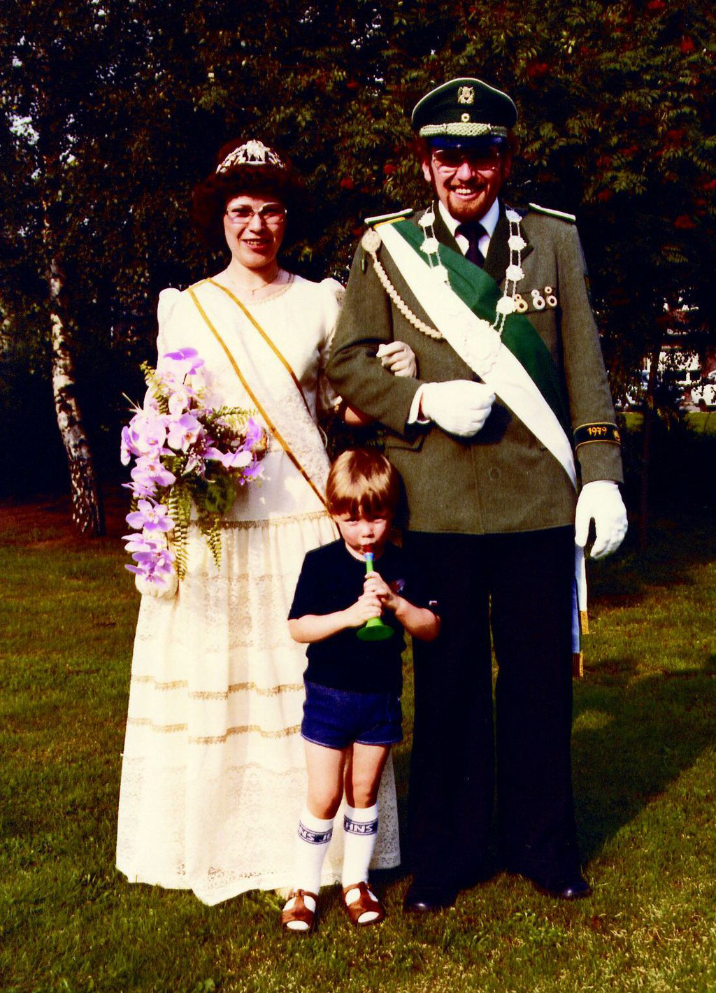 1979 Heinz (+) und Elfriede Sandtüns