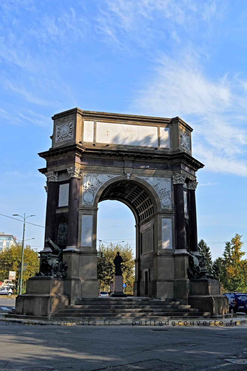 Arco del valentino, Turin, Italie