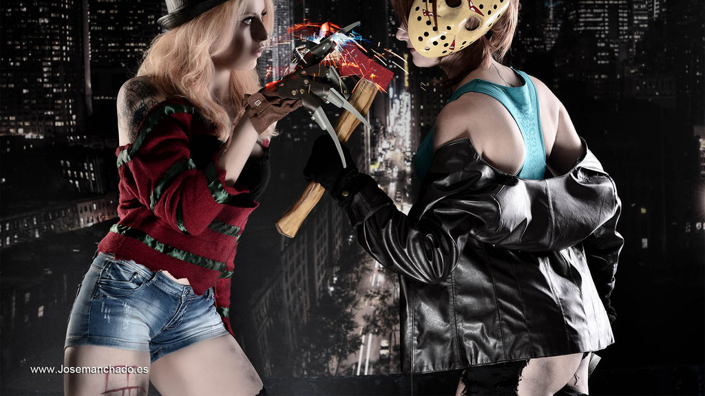 freddy vs jason, fotografo cosplay, cosplay sexy, book fotos cosplay, sesion fotos cosplay
