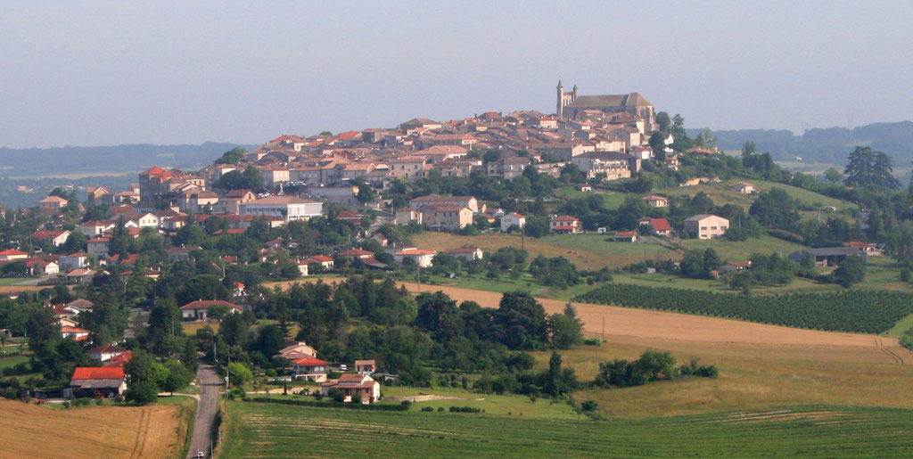 Monflanquin ( bastide)