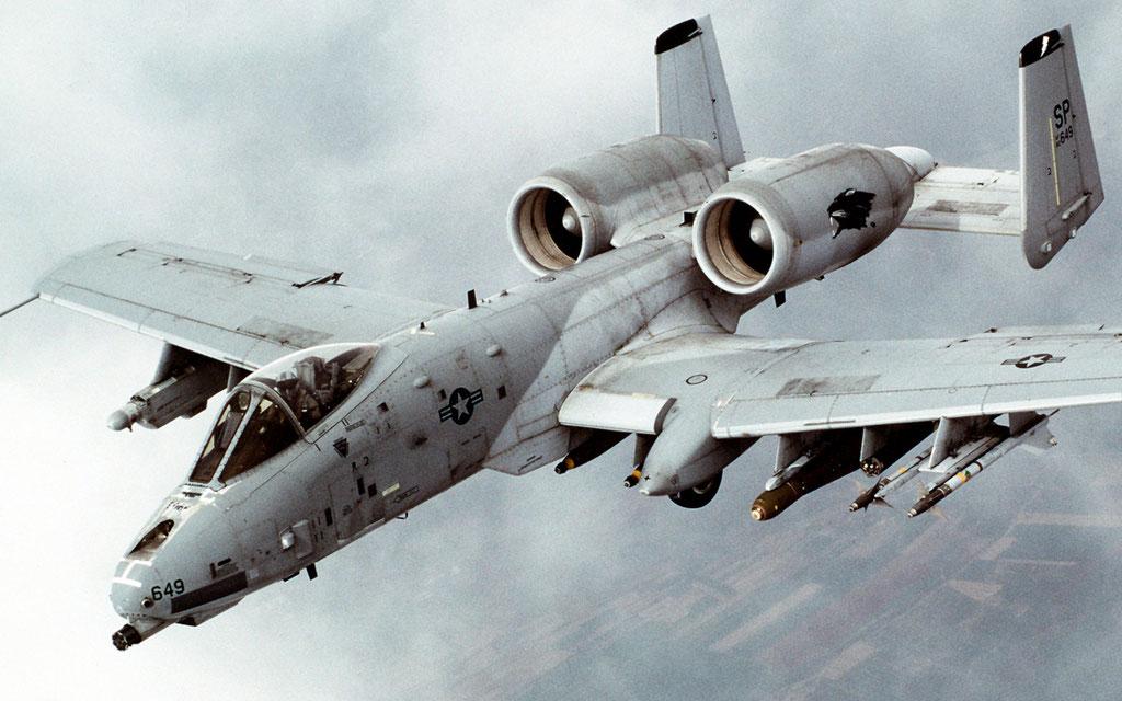 "A-10 ""Thunderbolt II"" (Foto: USAF)"