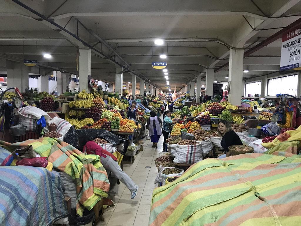 Obst und Gemüsemarkt