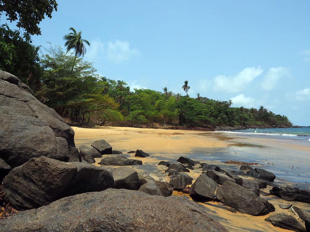 Sierra Leone, Westafrika: Banana Island