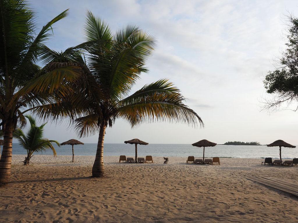 Sierra Leone, Westafrika: Tokeh Beach