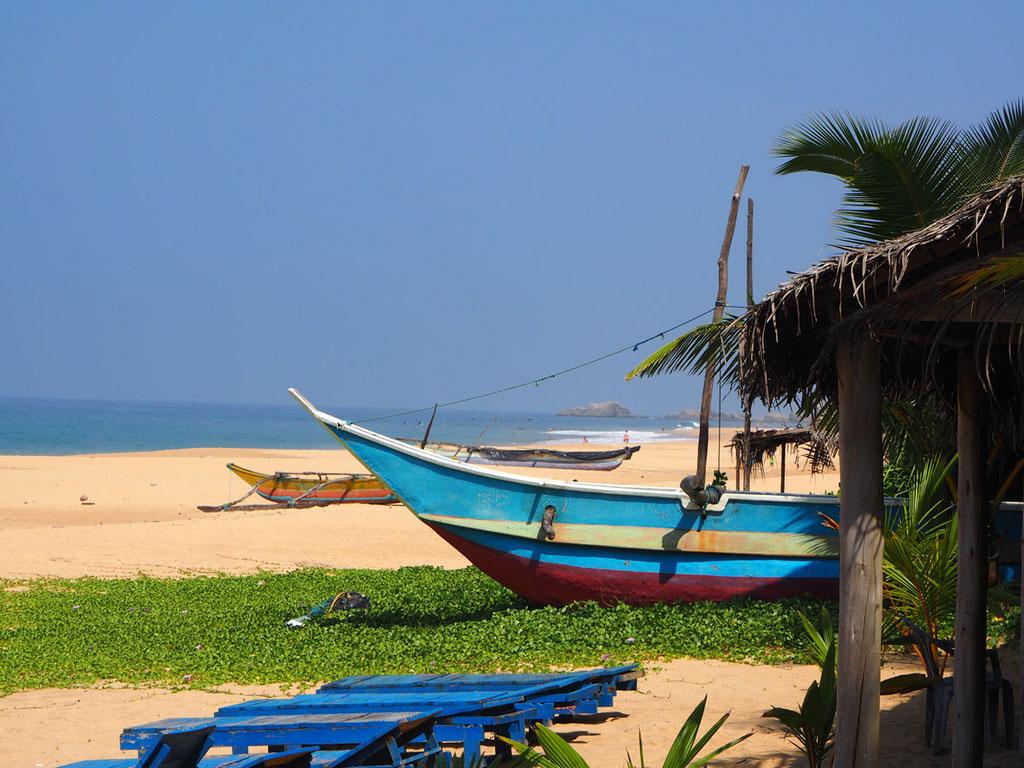 Sri Lanka: Strand von Hikkaduwa