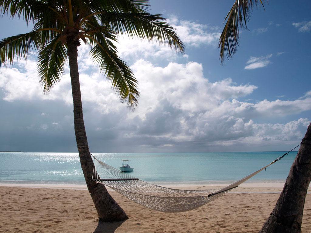 Bahamas: Strand auf Long Island