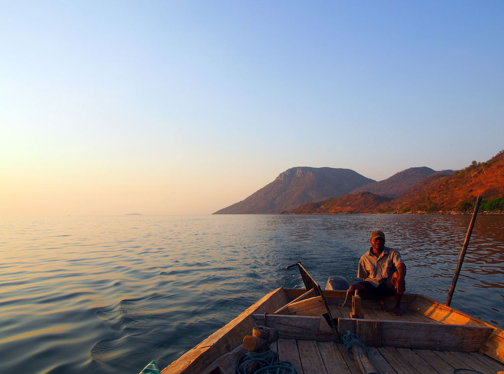 Malawi: Sunset Cruise auf dem Malawisee