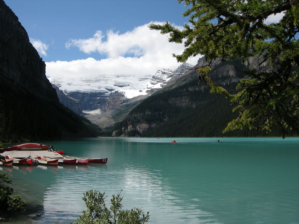 Kanada/Alberta: Lake Louise