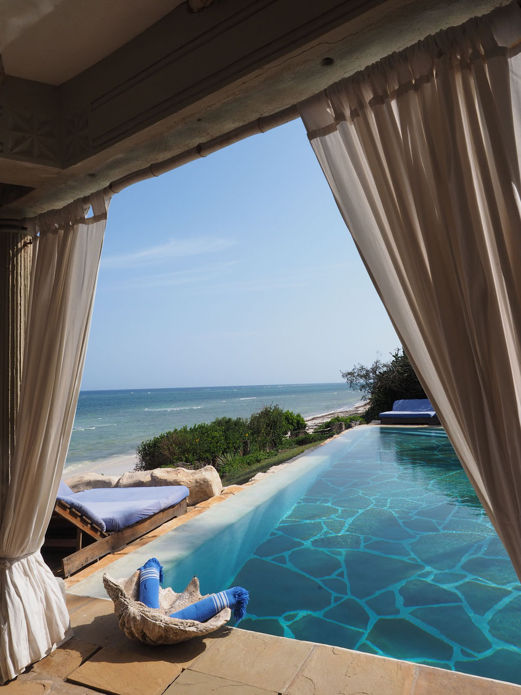Kenia, Diani Beach: Alfajiri Villas Pool