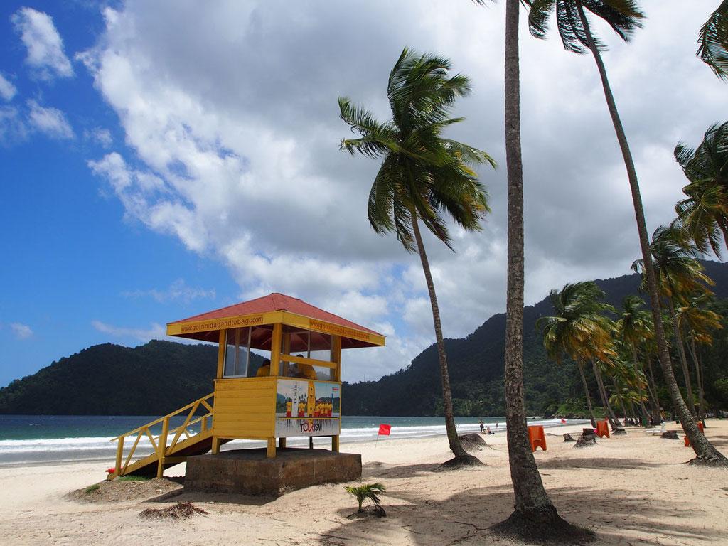 Trinidad: Strand von Maracas Bay